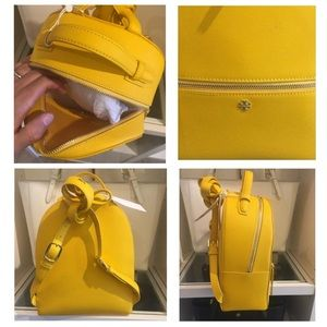 Tory Burch Bags - Tory Burch Emerson Cassia Leather Backpack